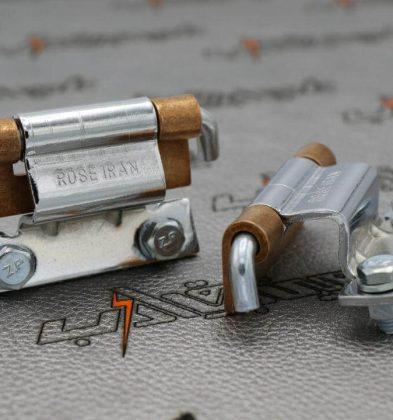 لولای مخفی فلزی سه پارچه ضخامت ورق 2-5 (0122)